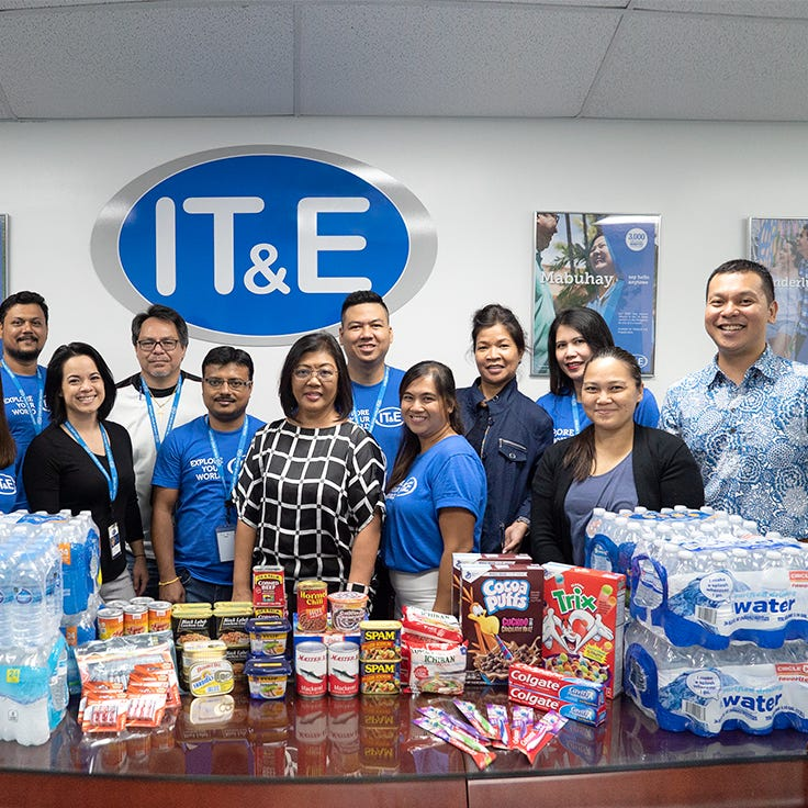 IT&E text-to-donate line helps Guam and CNMI residents after Typhoon Mangkhut