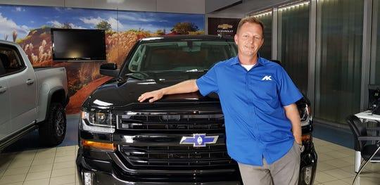 Clayton Wolfe of AK Chevrolet wins Best Car Salesman for Pika Best of Guam 2018.