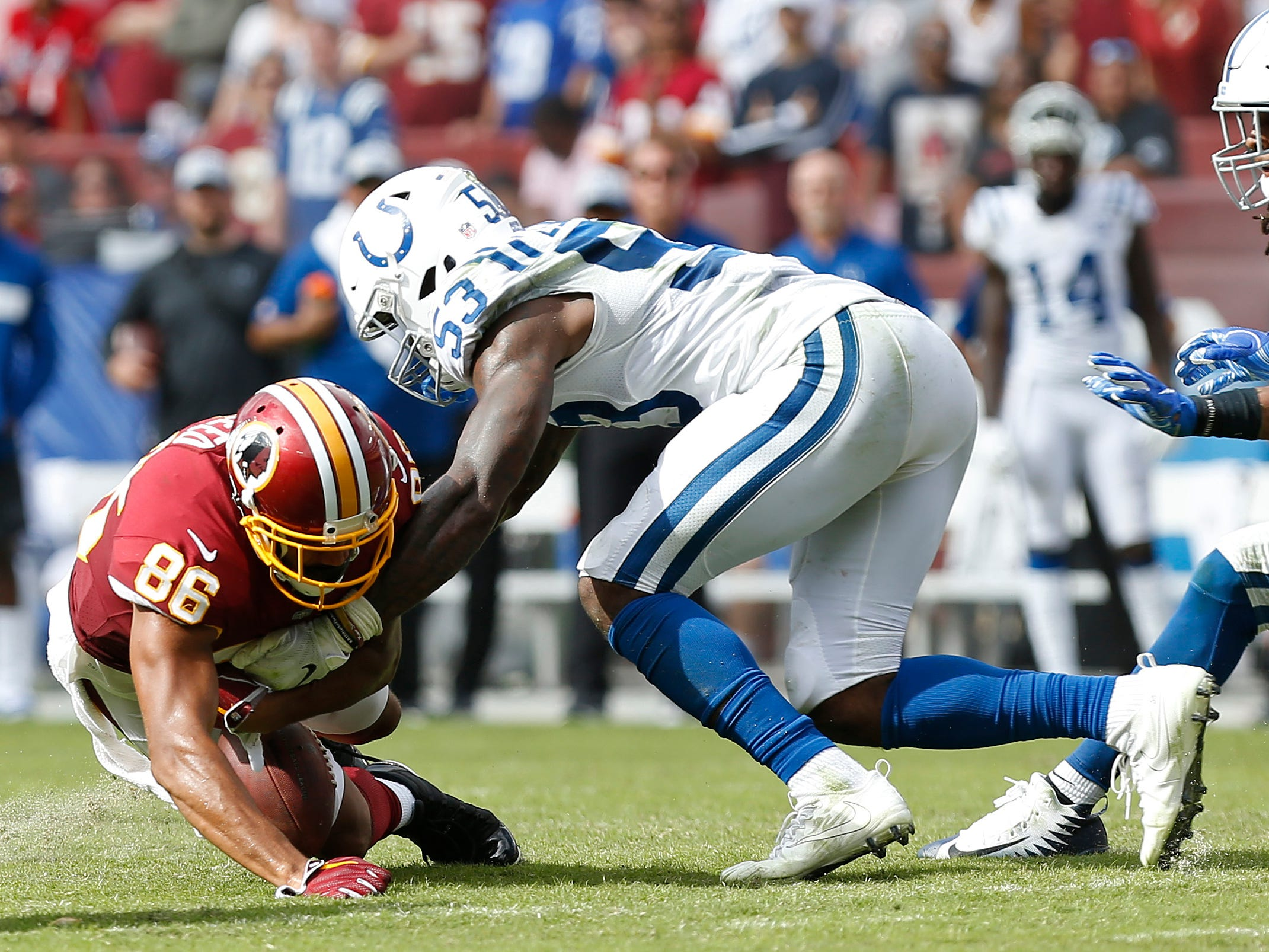 Here's another angle on that Jordan Reed fumble.