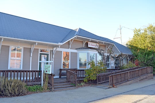 The Strawberry Café is still open in the old Madison train depot, its original location since 1983.