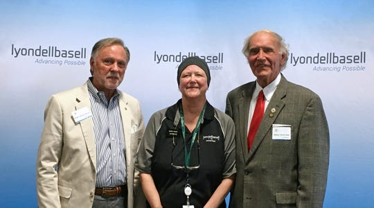 LyondellBasell Jackson Plant celebrates 30 years of operation, with keynote speakers Madison County Mayor Jimmy Harris and Jackson Mayor Jerry Gist.