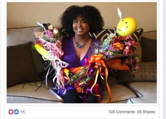 WBBJ TV meteorologist and multimedia journalist Corallys Ortiz receives flowers, speaks out after being criticized by a viewer for the way she wears her hair.