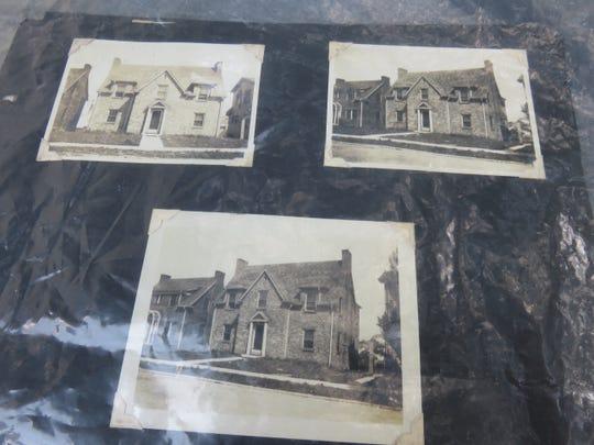 Old photos of Neyland/Briscoe home belonging to Ellen Rochelle.