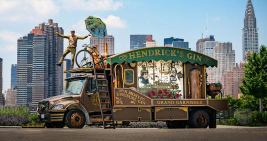 Hendricks Gin Giant Cucumber Garnisher Feat