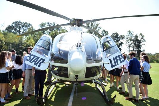 Webb LIFESTAR helicopter