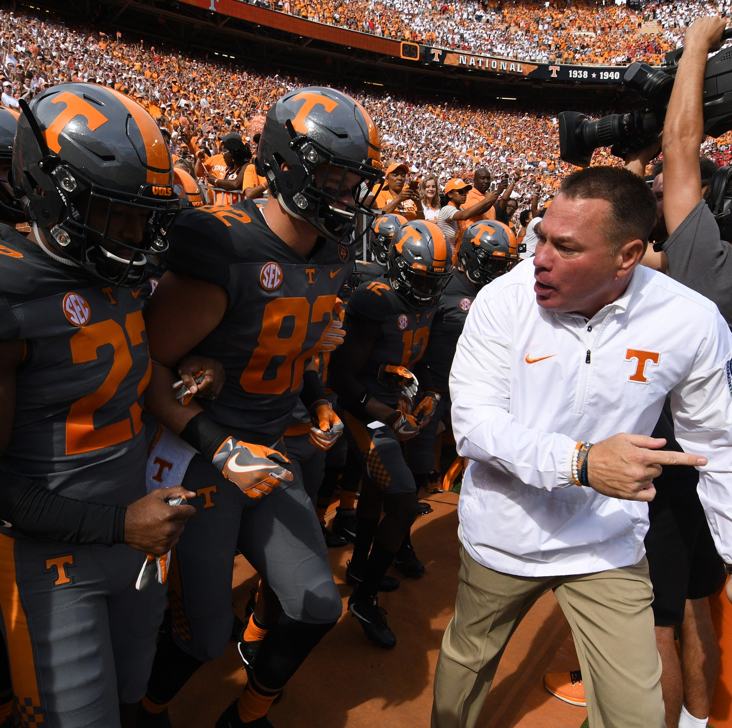 Butch Jones: One year anniversary of UT Vols firing football coach