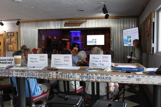 SoKno Market hosted the John Sevier Highway community meeting Sept. 9, 2018.