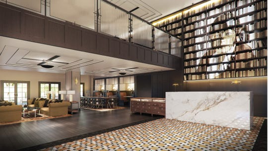 Renovations of the Union Club Hotel at the Purdue Memorial Union are expected to include a more expansive lobby.
