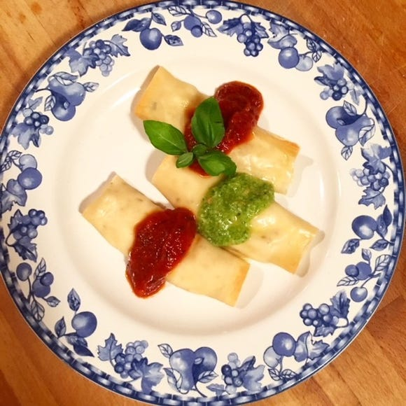 Chef Anne Falgout has an easy way to throw together manicotti.