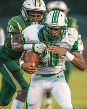Eunice running back Jeoul Hill is one of many offensive weapons for the Bobcats this season.