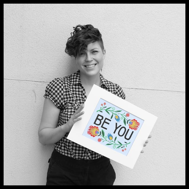 Megg Sorensen is a Wycinanki artist and activist and this week's Be You subject.