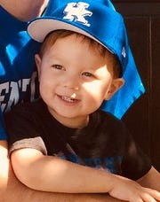 Marco Shemwell, the 4-year-old who died after being hit by a car at a University of Kentucky football game.