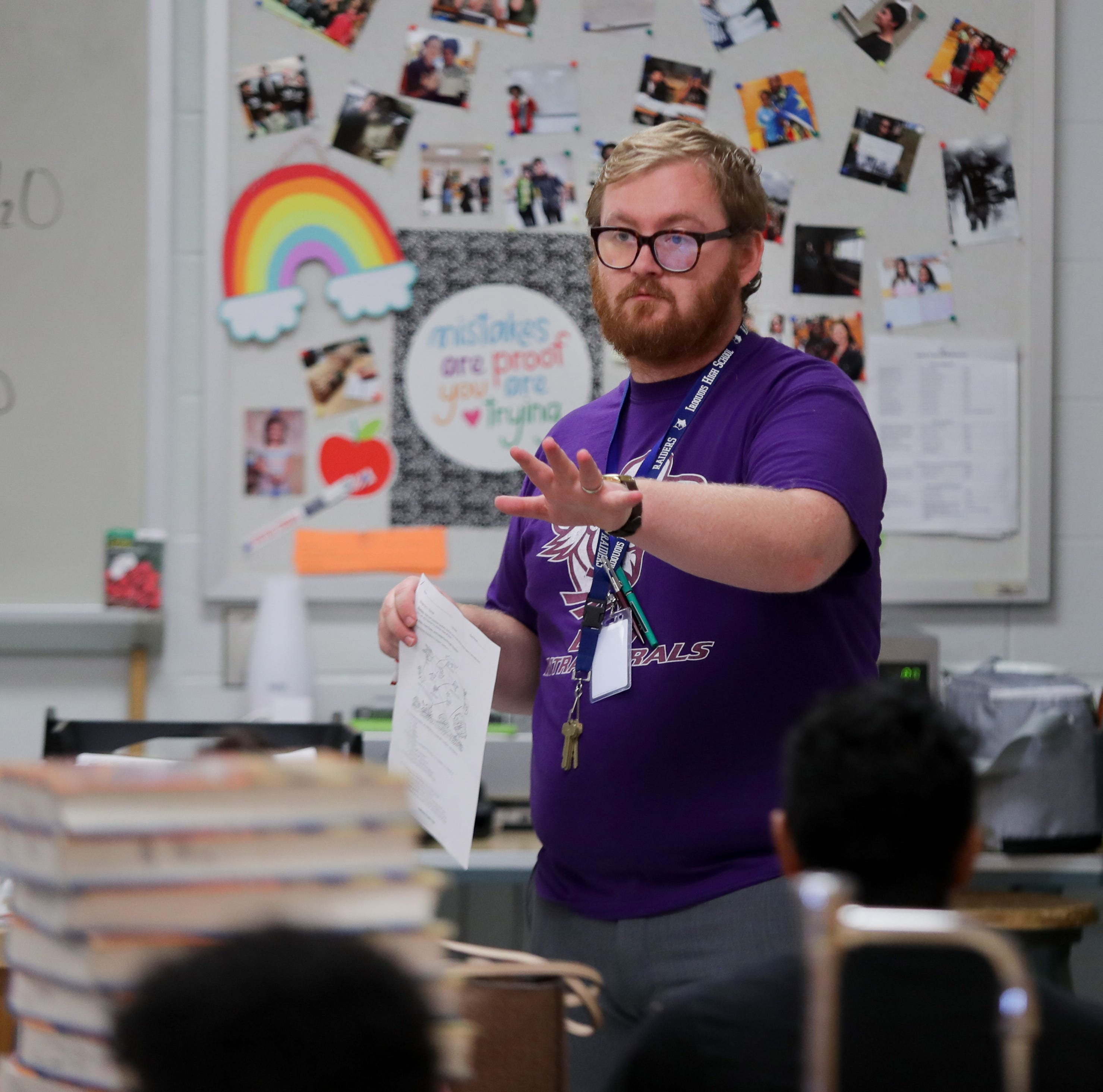 A month into school, dozens of JCPS classes lack a permanent teacher