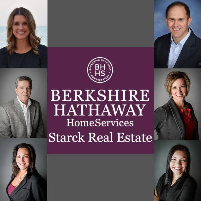 Berkshire Hathaway HomeServices Starck Real Estate agents.