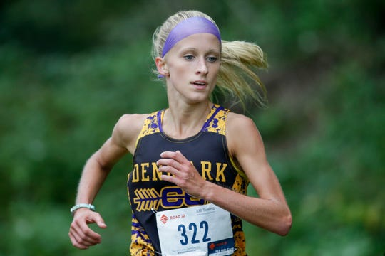 Denmark's Leah Kralovetz, the WIAA Division 2 individual state champion in girls cross country, is also one of the state's top performers this spring in the 1,600 and 3,200 runs.