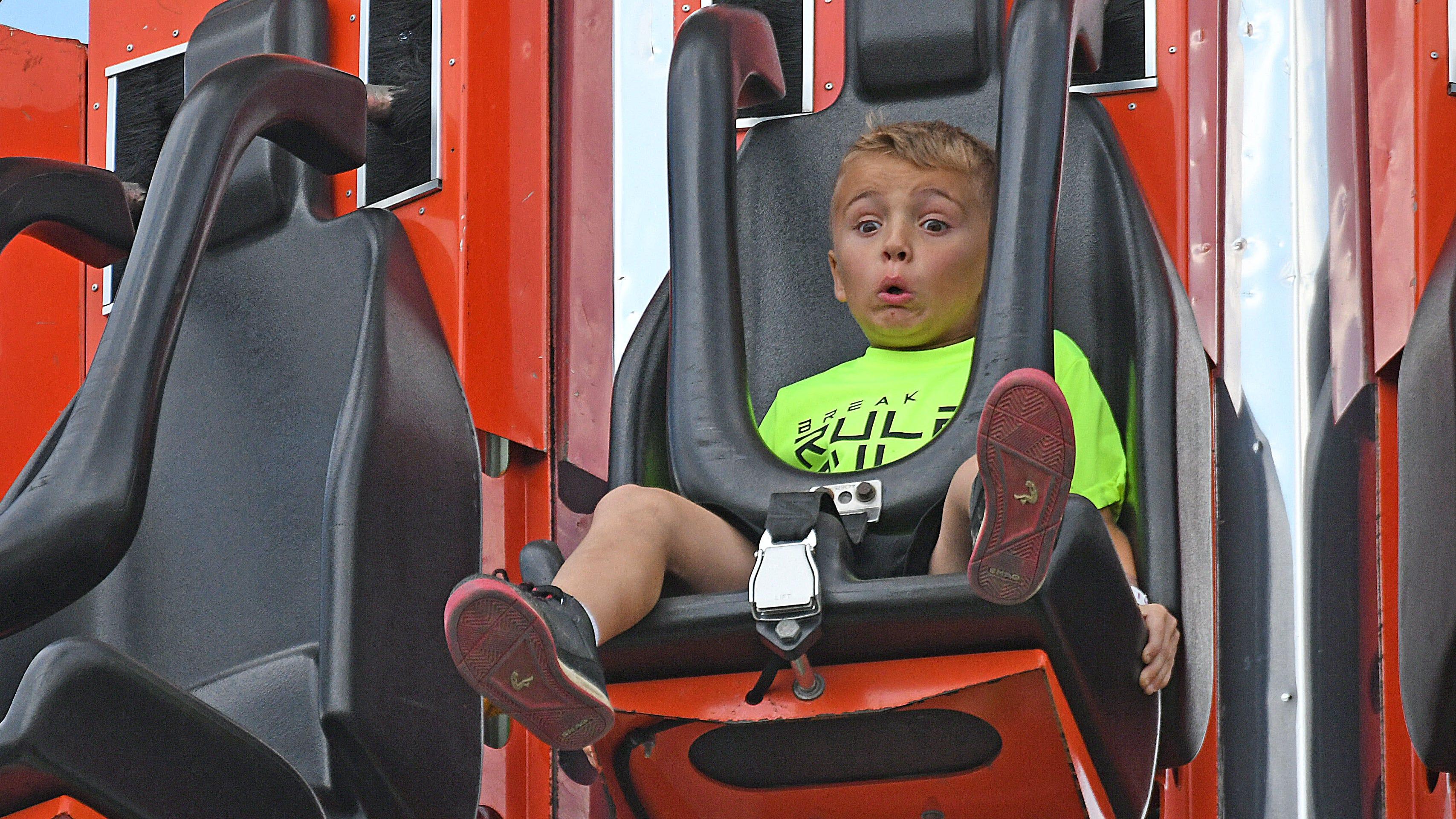 On Youth Day, families flood the Ashland County Fair