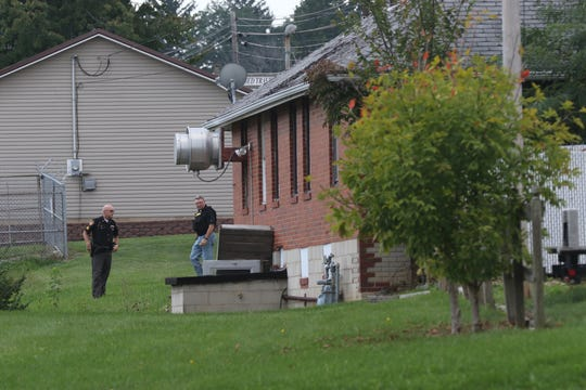 The search for Shawn Christy continues Friday in Mifflin Township northeast of Mansfield.