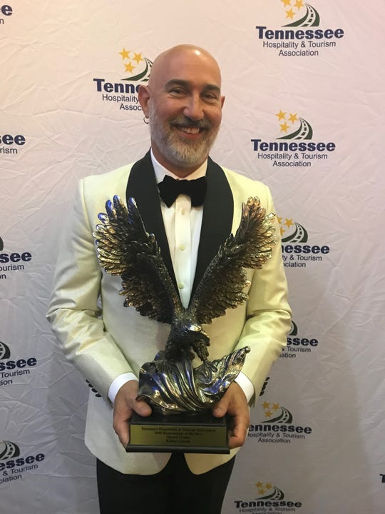 Shawn Danko, owner of Kooky Canuck, recognized as 'Tennessee Restaurateur of the Year.'
