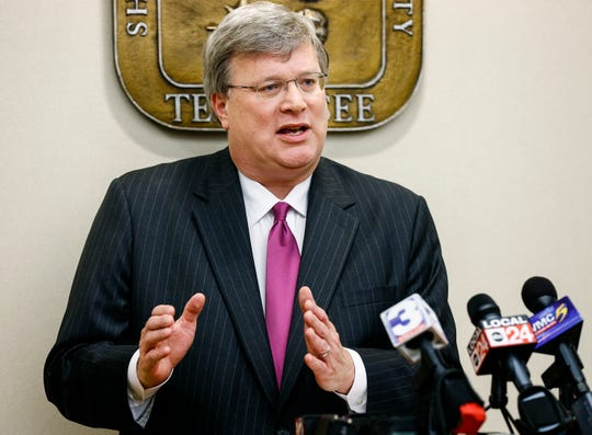 Memphis Mayor Jim Strickland's spokeswoman by email saidan investment adviser was asked to consider Epicenter's request.