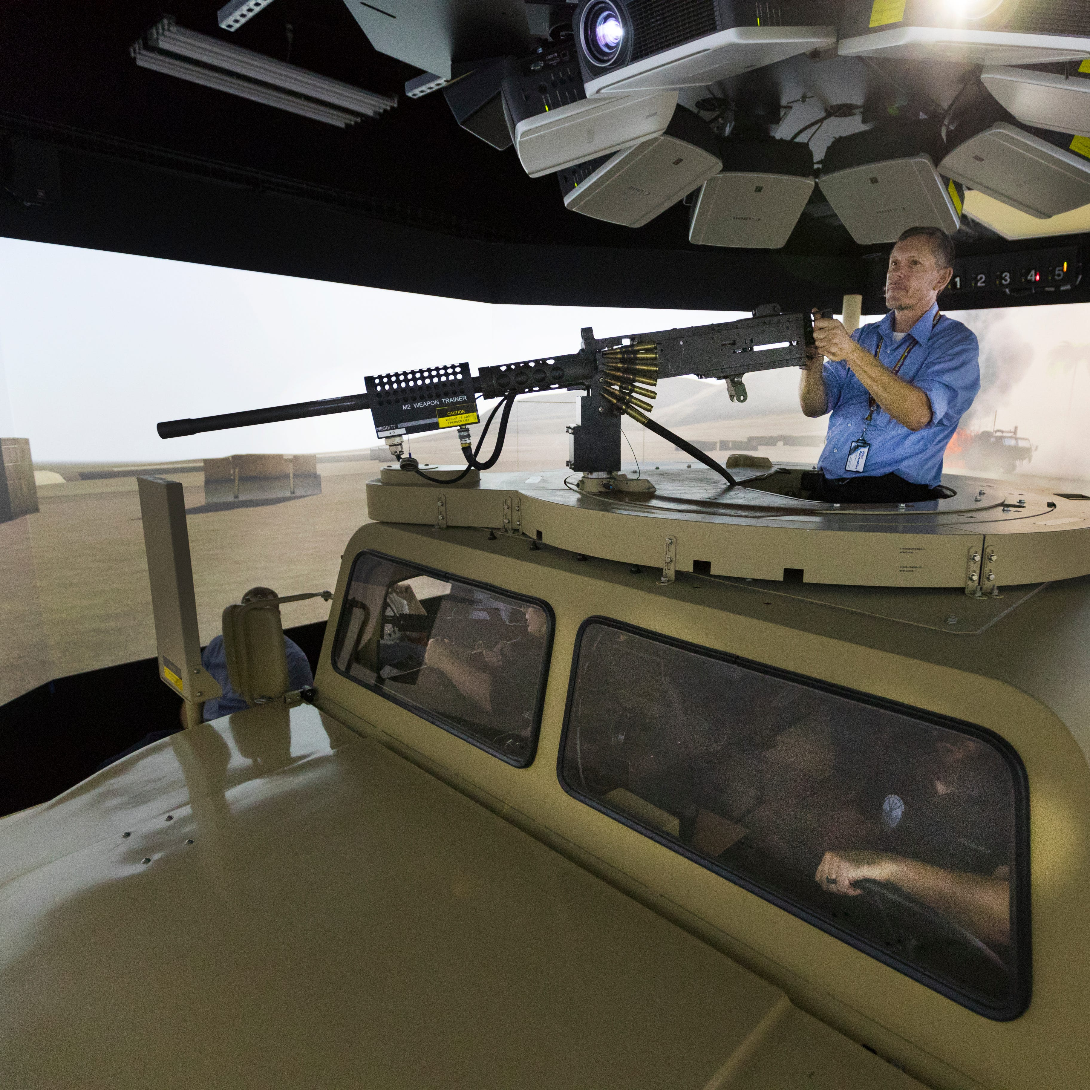 Tomah VA therapists use Fort McCoy combat simulator to help veterans with PTSD