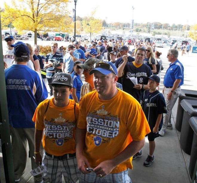 Brewers fans haven't experienced the National League playoffs since 2011.