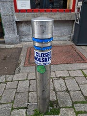 A Reddit user shared this photo in a thread. The user traveled to Galway, Ireland, and saw the bumper sticker on a post on High Street in the Latin Quarter.