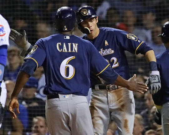 Lorenzo Cain and Christian Yelich were both acquired on the same day in a day that will live forever in Brewers lore.