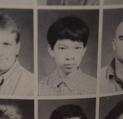 Anthony Tong Yearbook photo