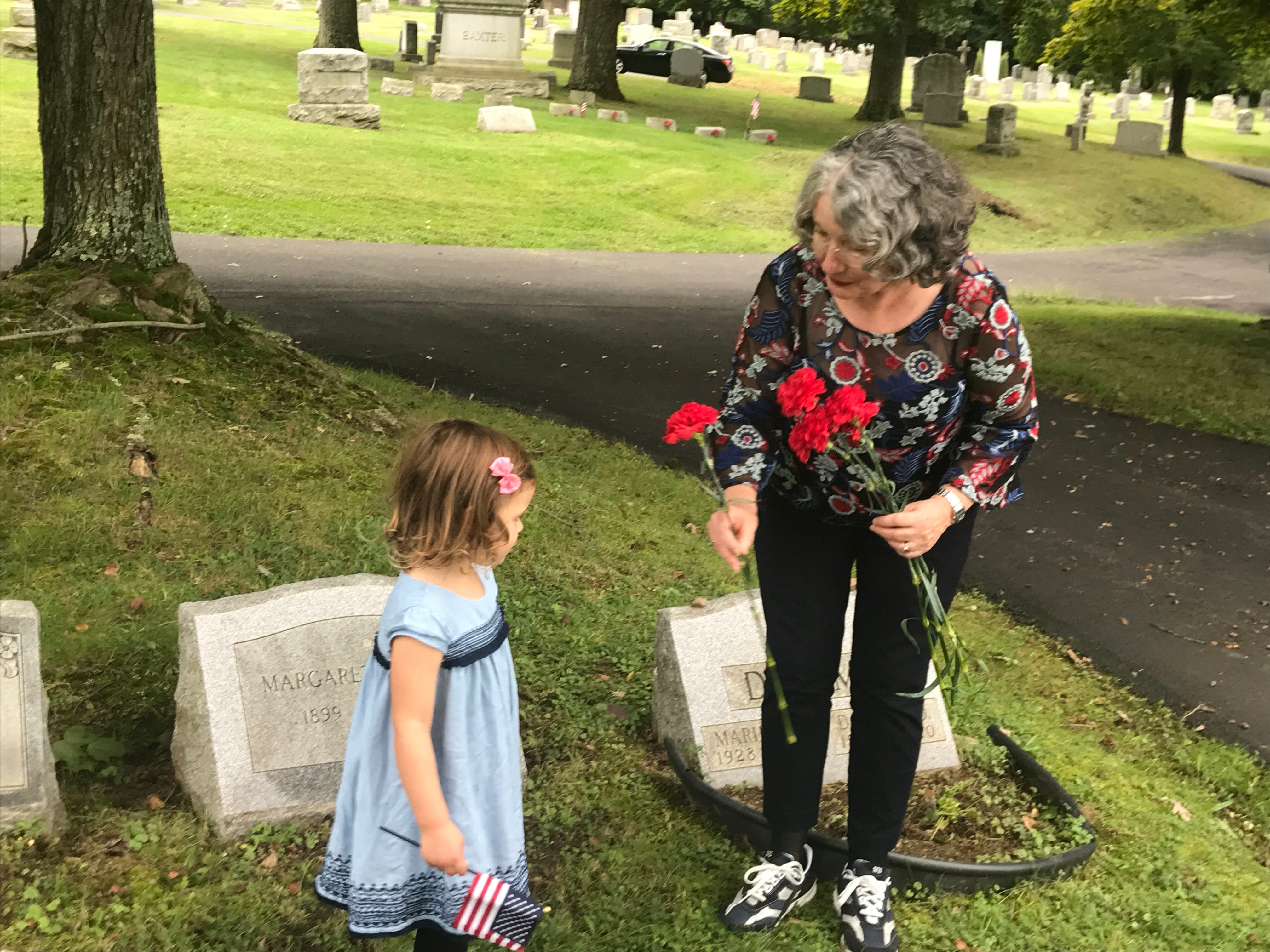 Close-knit family visits grave, memorial of heir who died exactly 100 years ago in France during World War I.