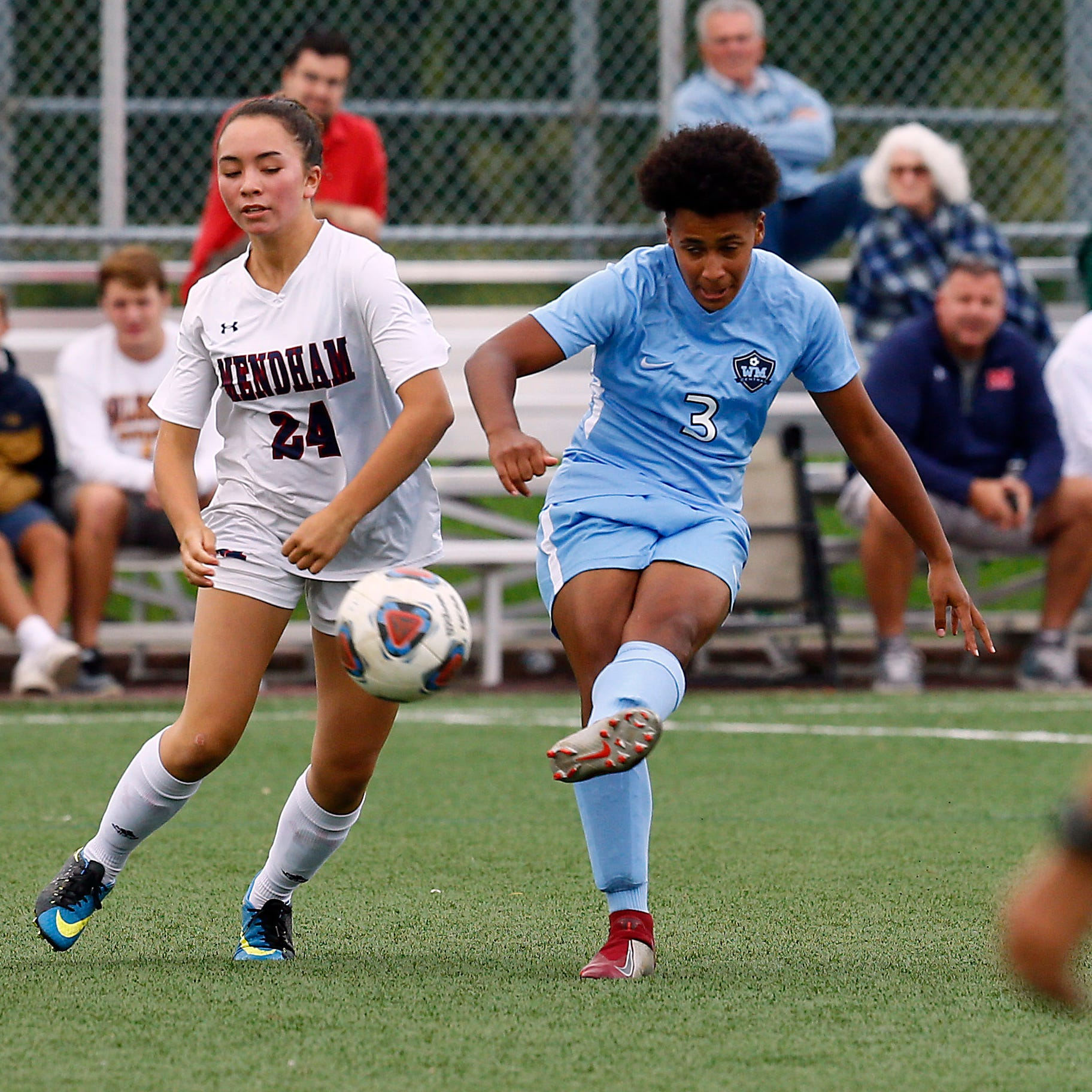 PHOTOS: Mendham vs. West Morris NJAC-American girls soccer match