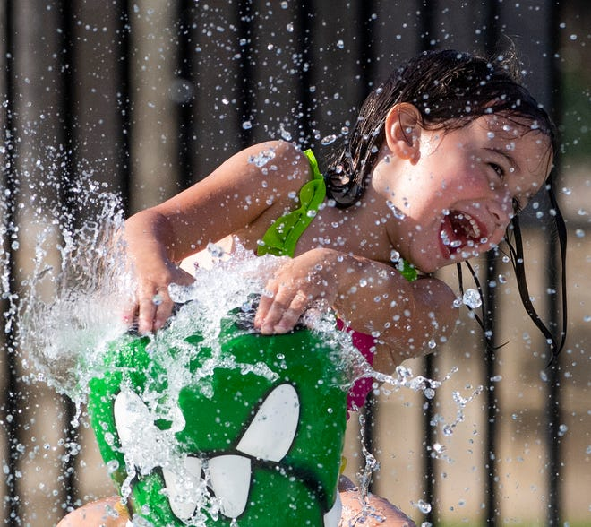 Prattville's splash pad is open for people to enjoy over the Memorial Day weekend.