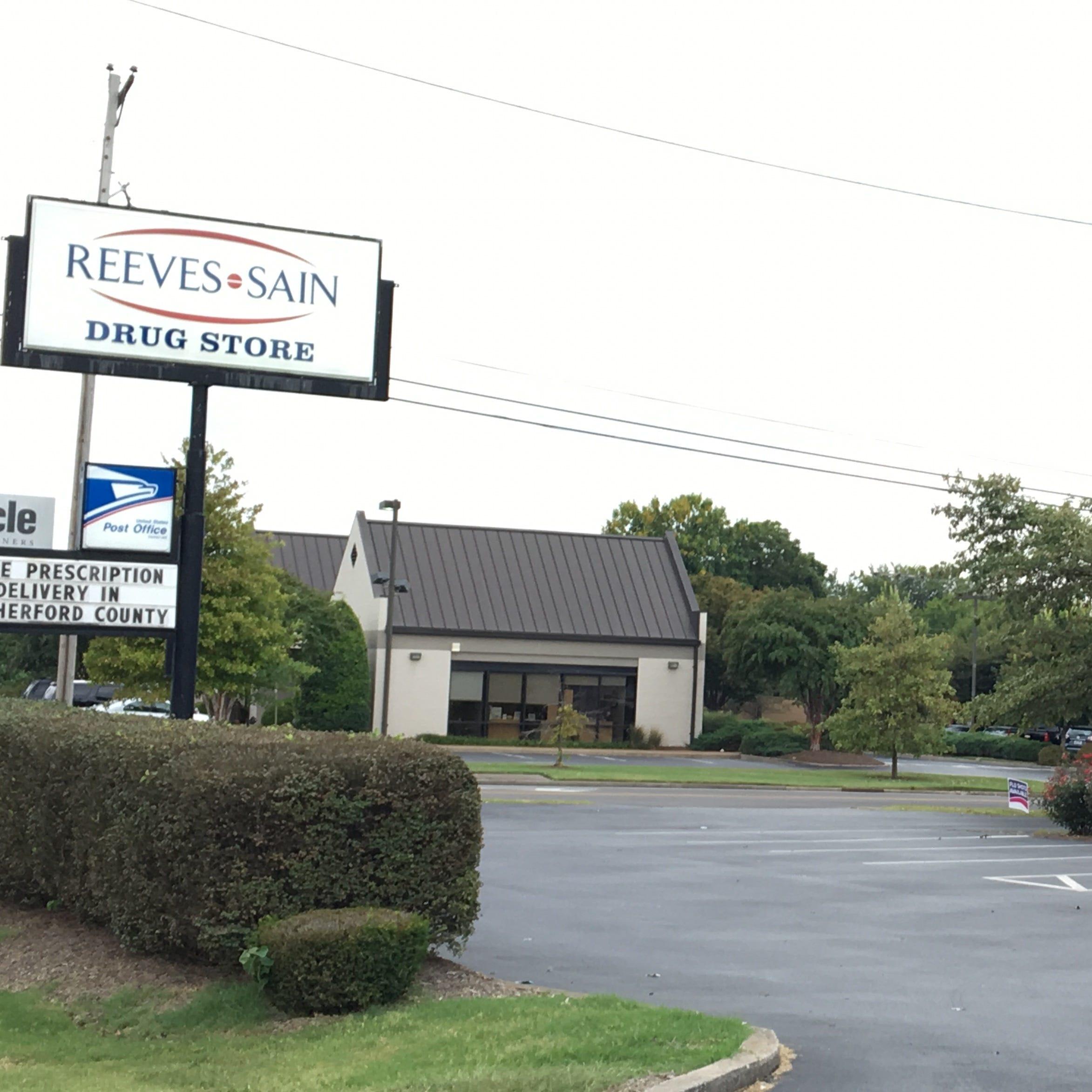Rick Sain worried Reeves-Sain Drug Store will close if Walgreens deal goes through