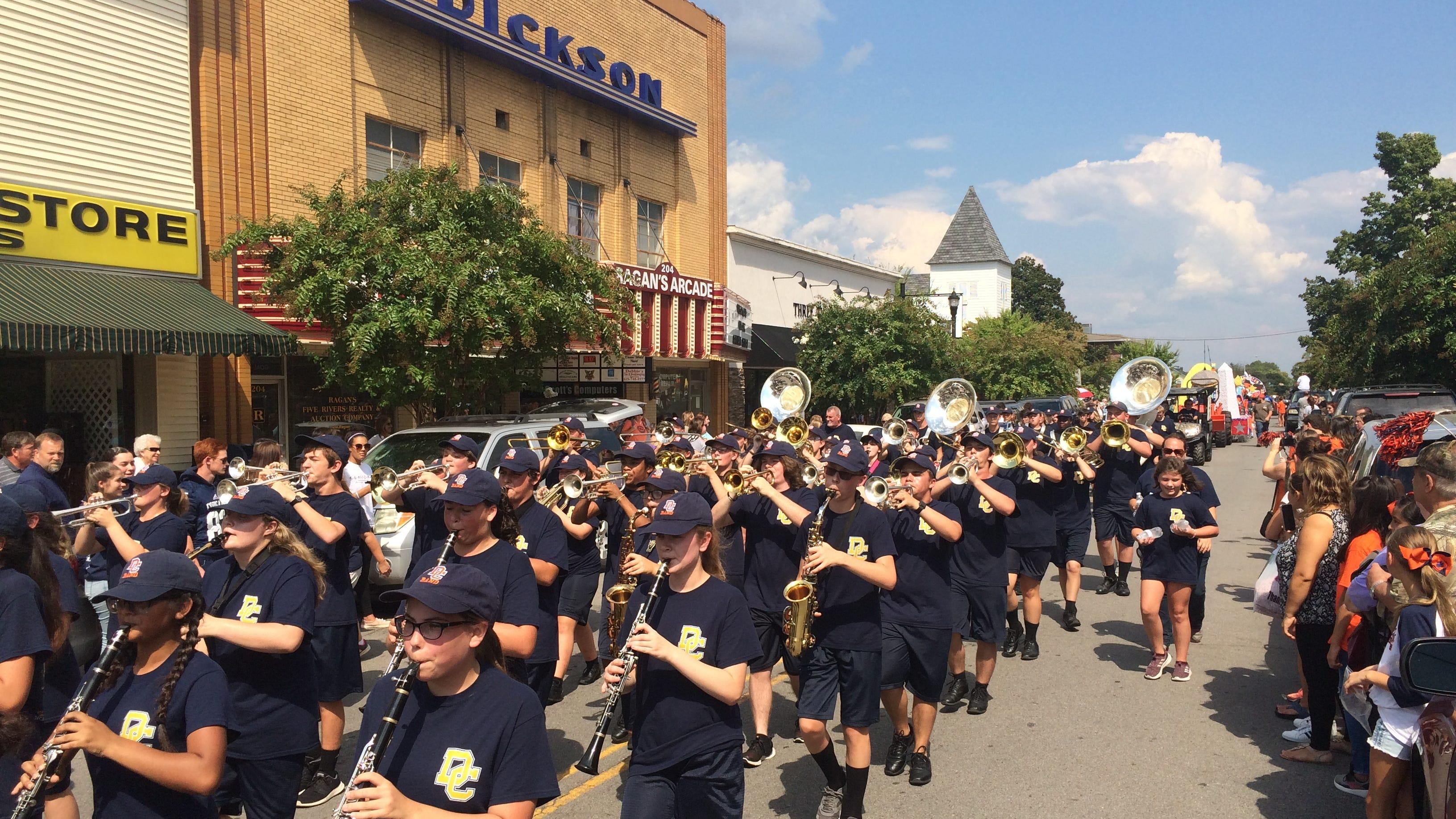 Dickson County High School Homecoming Parade 2018