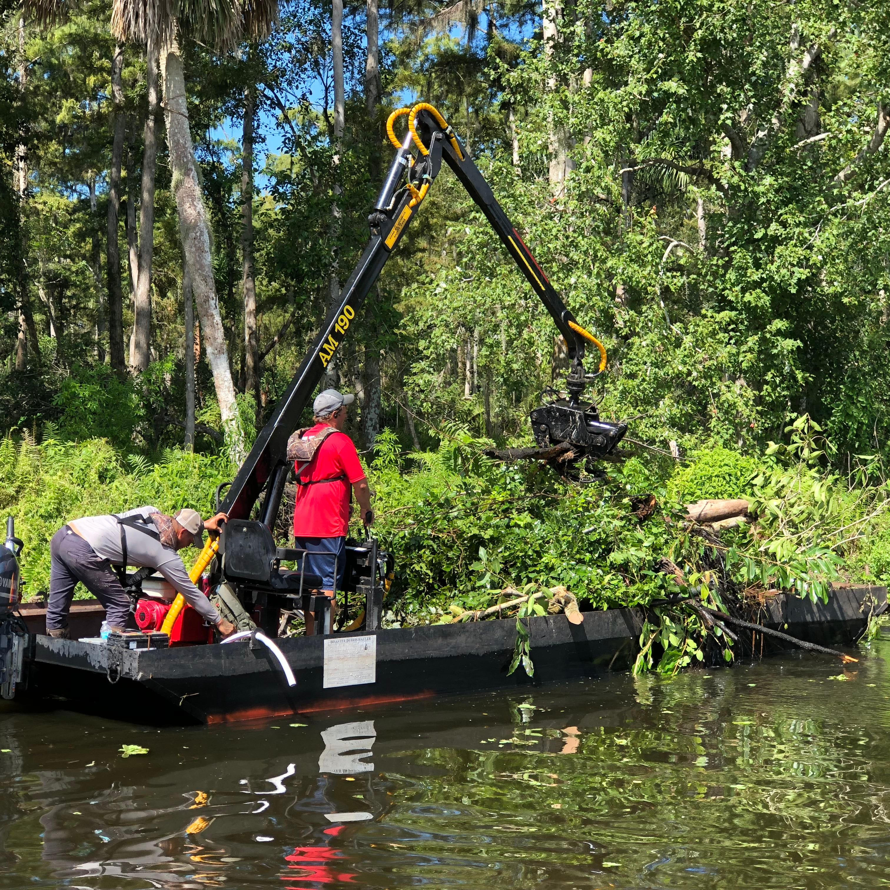 Collier County still working to clear Hurricane Irma debris from waterways