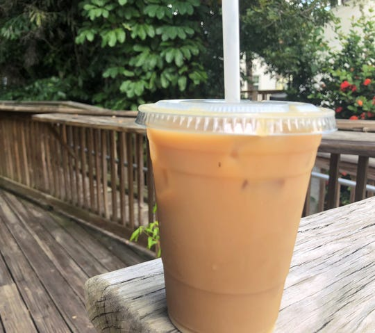 Our pick: Cold brew latte at Bennett's Fresh Roast in Fort Myers.