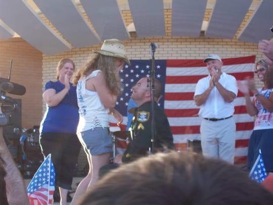 Bonita Springs has played a major role in the life of Arleen Hunter, the city's new manager. In 2011, Bobbie Hunter, her husband, proposed to her at the city's Fourth of July celebration. It was the same event where they met three years prior.
