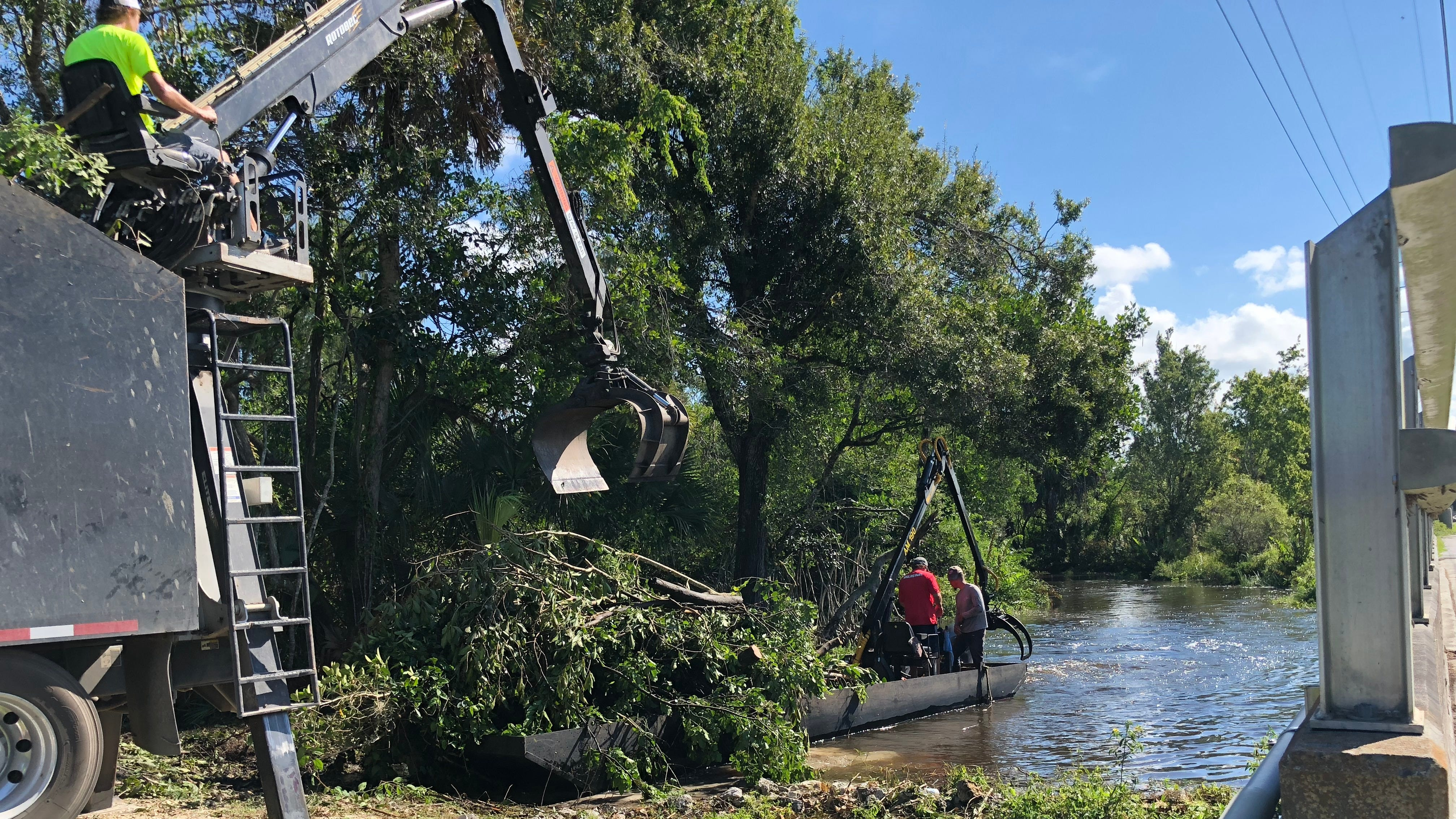 The cleanup will open the way for canoes and kayaks, and prevent flooding. Debris can trap more debris, creating a dam that could cause flooding.