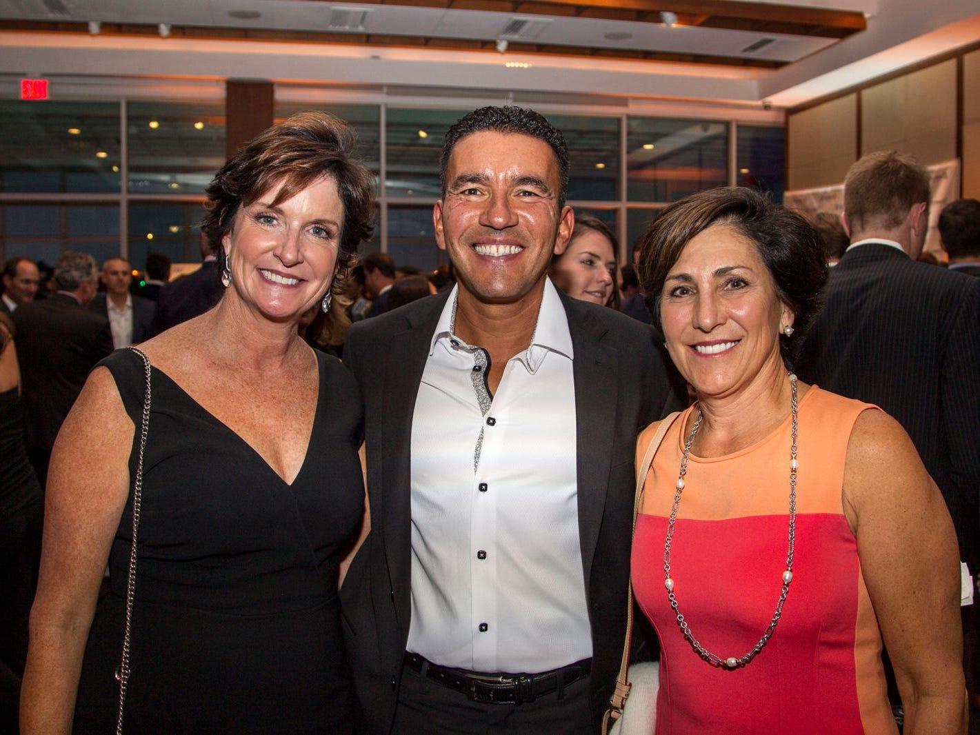 Malan Foran, Laurent Lafontant, Sue Durfee. 11th annual IronMatt Fundraiser Gala at Pier 60 Chelsea Piers. 09/20/2018