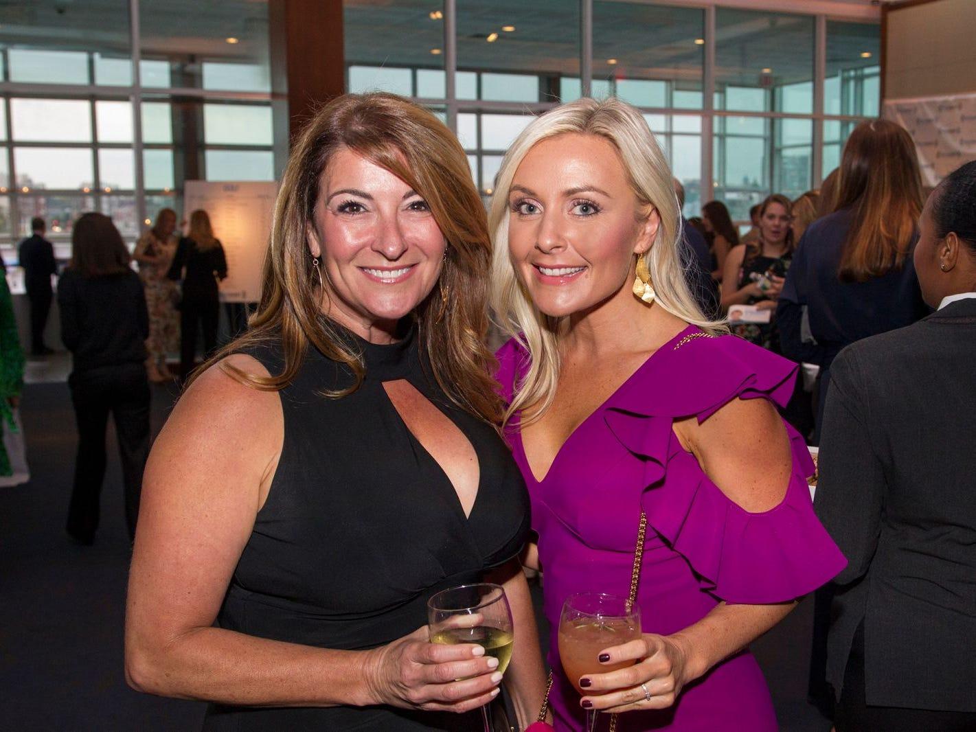 Julie Costello and Renee Hopke. 11th annual IronMatt Fundraiser Gala at Pier 60 Chelsea Piers. 09/20/2018