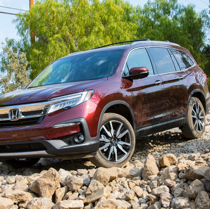 Honda's 2019 Pilot emphasizes off-road chops