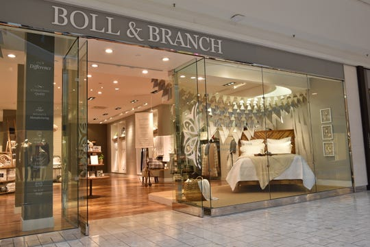 Boll & Branch at Short Hills Mall.