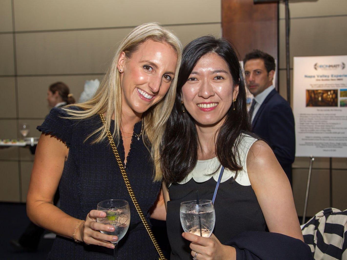 Anie Cheslin, Karthy Chen. 11th annual IronMatt Fundraiser Gala at Pier 60 Chelsea Piers. 09/20/2018