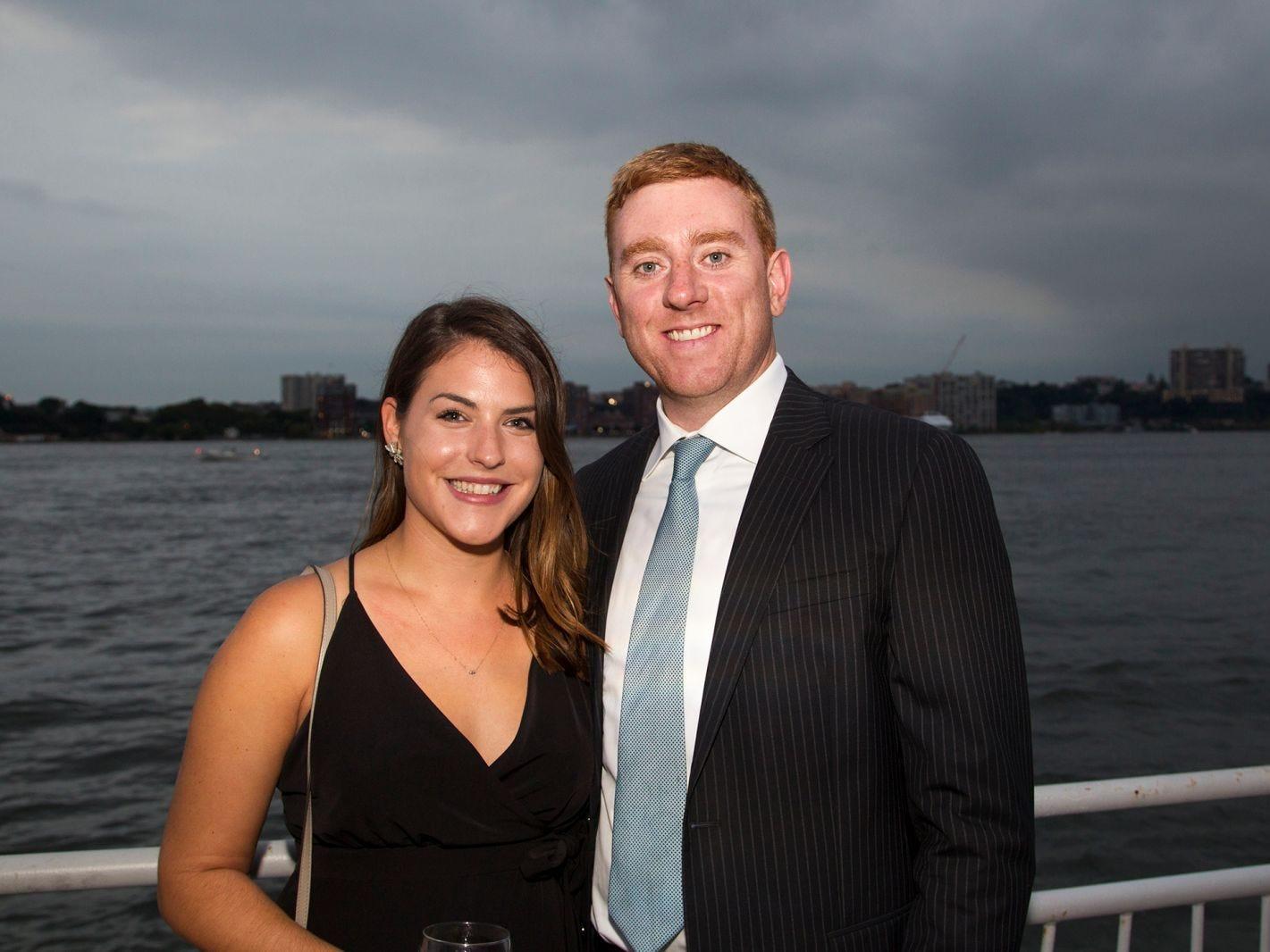 Katie Ferris, Ryan Paris. 11th annual IronMatt Fundraiser Gala at Pier 60 Chelsea Piers. 09/20/2018