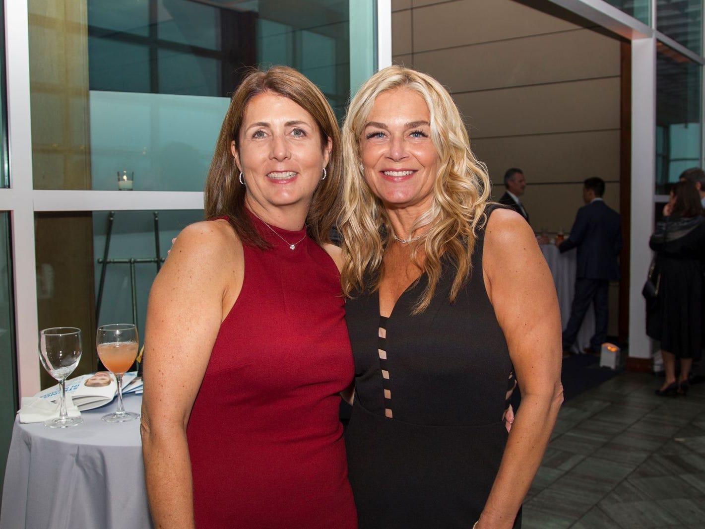 Heather Costabile, Geri Oppler. 11th annual IronMatt Fundraiser Gala at Pier 60 Chelsea Piers. 09/20/2018