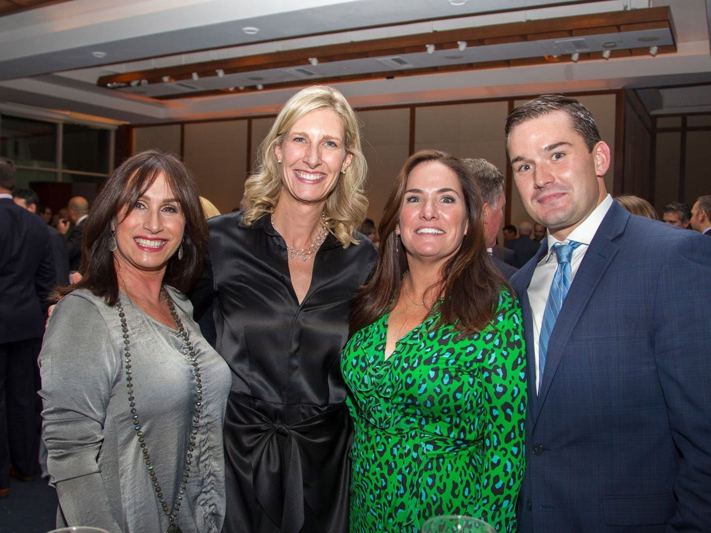 Kerri Holder, Susan Kwon, Kelly and Chris Larson. 11th annual IronMatt Fundraiser Gala at Pier 60 Chelsea Piers. 09/20/2018