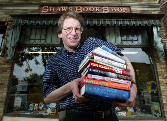 Tom Downs, owner of Shaw's Book Shop in Westwood, in an undated photo.