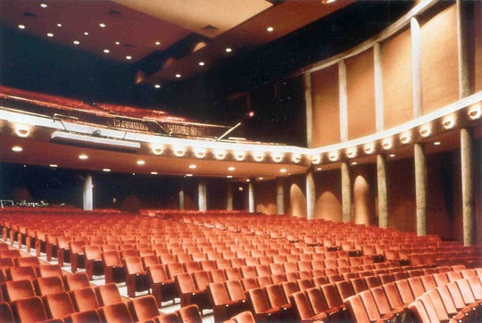 Paper Mill Playhouse, before the renovations