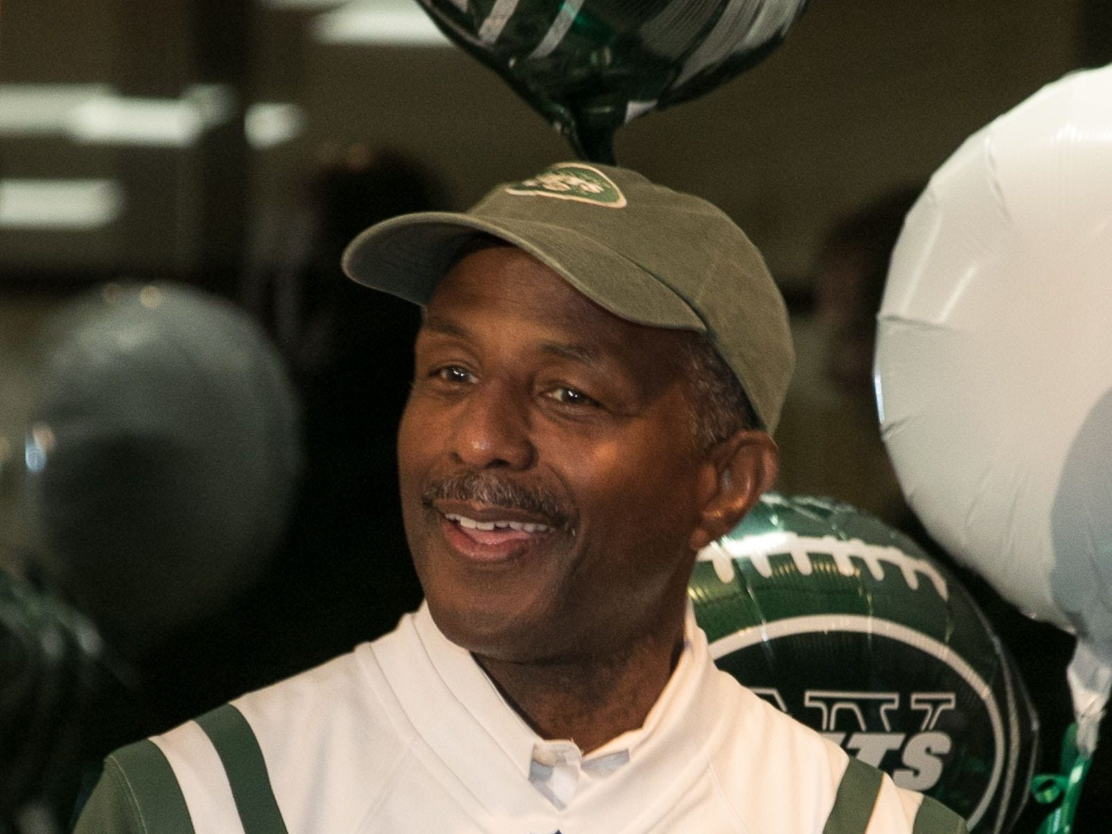 Former NY Jet Bruce Harper. Englewood Health hosted its Men's Health and Football event with former Jets and Giants players and Don La Greca from ESPN radio. Attendees watched the Thursday night football game while receiving advice about staying healthy and tackling health problems early on. 09/20/2018