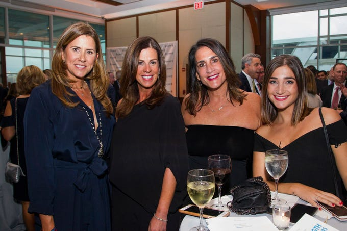 Kirsten Kicade, Carolyn Layton, Stacey Lopis, Callie Lopis. 11th annual IronMatt Fundraiser Gala at Pier 60 Chelsea Piers. 09/20/2018