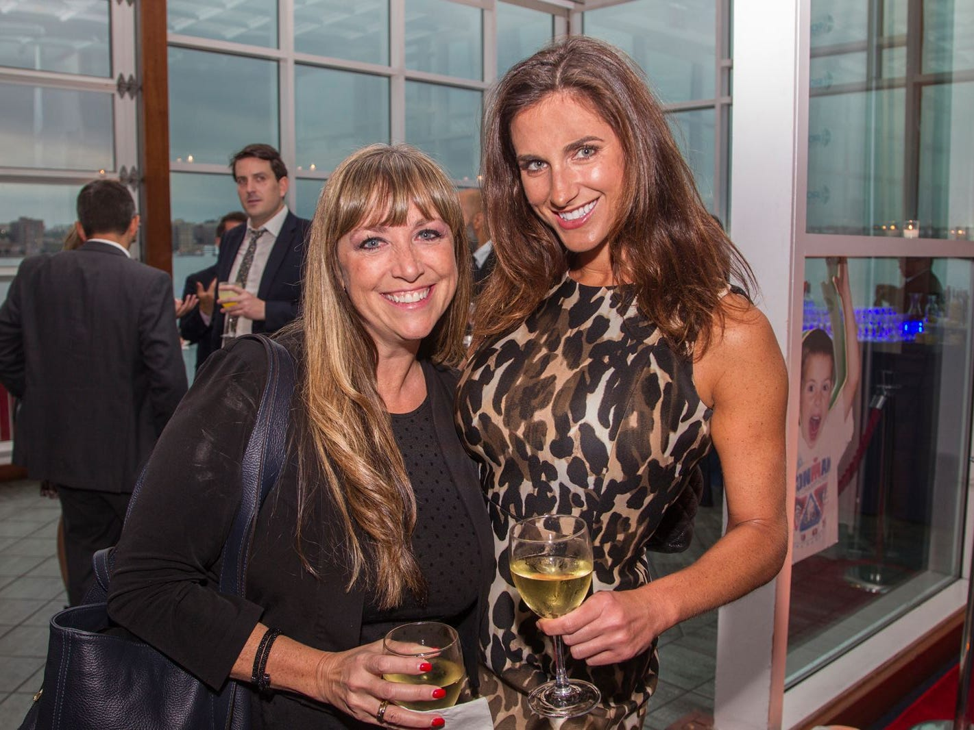 Annette Halprin, Adrienne Solti. 11th annual IronMatt Fundraiser Gala at Pier 60 Chelsea Piers. 09/20/2018